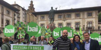 Jordi Gaseni, vicepresident primer de l'AMI ha participat en l'acte a Gernika (Busturialdea) | AMI