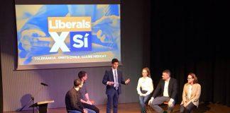 Acte d'inici de la campanya 'Liberals pel Sí'   Col·lectiu Catalans Lliures