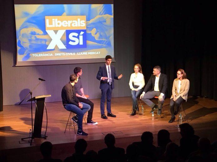 Acte d'inici de la campanya 'Liberals pel Sí' | Col·lectiu Catalans Lliures