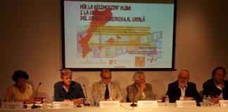 """Taula rodona """"Per la reciprocitat plena i la creació del consell audiovisual català""""   FOLC"""