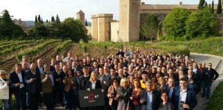 Foto dels electes que han participat de l'acte de presentació de l'AECAT al Camp de Tarragona   AMI