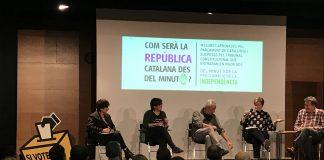 Imatge de la presentació de la Campanya República Minut 0