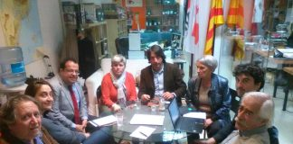 Reunió de l'executiva del Pacte Nacional | Pacte Nacional pel Referèndum