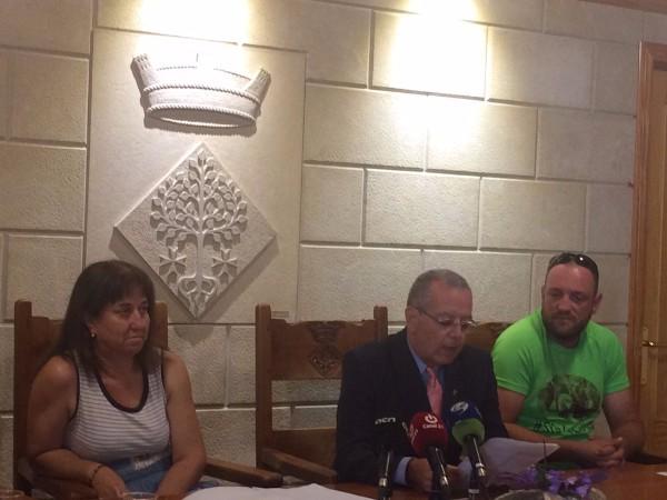 Josep Gonzàlez i Gil fent el discurs un cop investit alcalde | SI