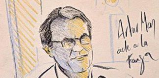 Artur Mas dibuixat per en Pol Peiró