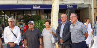 Presentació del manifest d'ex alcaldes i regidors del PSUC, ICV i PSC del Baix Llobregat. Font: @NormanMunyoz