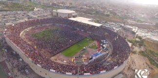 El camp de futbol on va tenir lloc l'acte de campanya | @KurdisCat