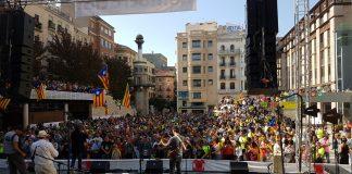 La 'Marató per la Democràcia' a Lleida | Òmnium Cultural