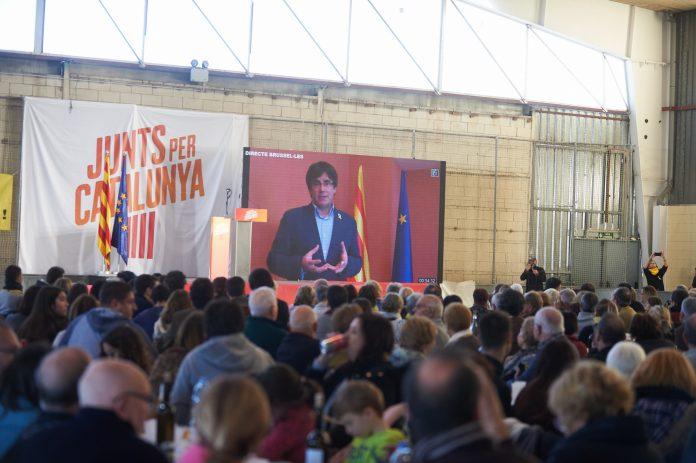 Intervenció de Carles Puigdemont a la botifarrada solidària 'Junts per la Marató' a Sant Celoni | Junts per Catalunya
