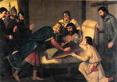 La mort de Guifré I, comte de Barcelona