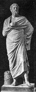 Estàtua de Sòfocles (496 a.C.) Museu lateranense. Roma.