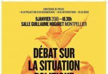 Cartell de l'acte organitzat pel CDR de Montpeller | CDR Montpeller