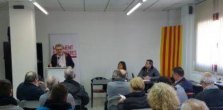 Alfons Palacios, president de MES durant el Consell Polític de la formació | MES