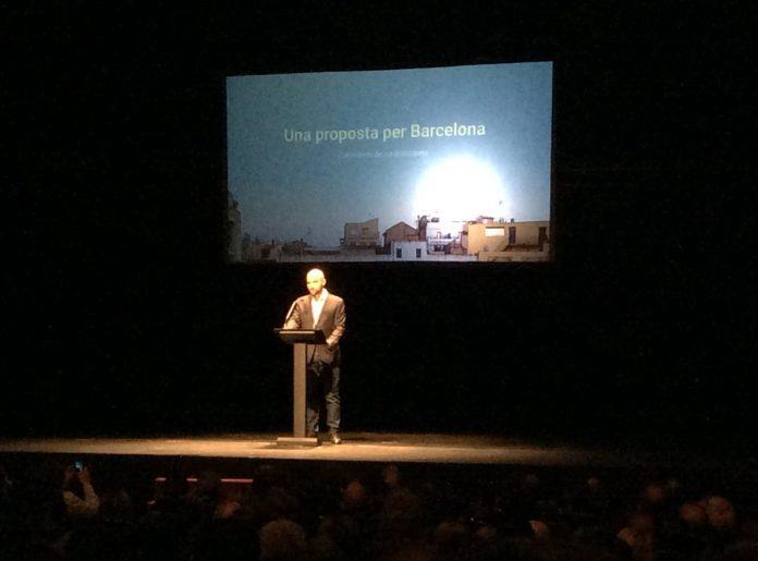 Moment de la conferència de Jordi Graupera | Ramon Munné
