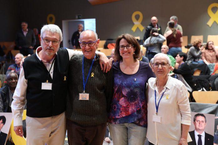 La direcció de l'ANC escollida després de les eleccions a secretariat constituent del 2018 | Assemblea Nacional Catalana