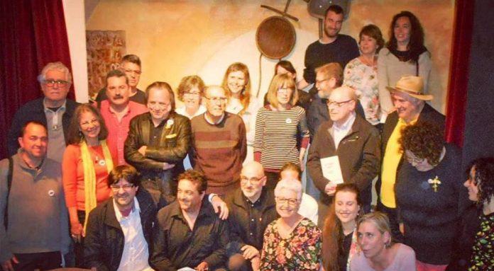Instantània 15 de Maig de 2018 @ L'Horiginal Poesia (BCN)   Presentació #LaTerraSagna d'Edicions Albí