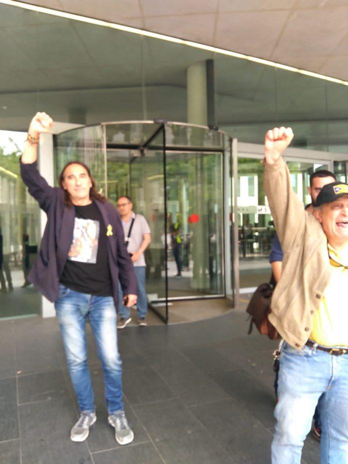 En Fredi Bentanachs a la sortida del judici