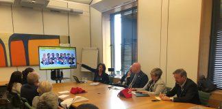Elisenda Paluzie explicant la situació de Catalunya a parlamentaris britànics | Assemblea Nacional Catalana