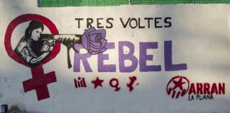 Mural 'Tres voltes rebel' | Arran La Plana