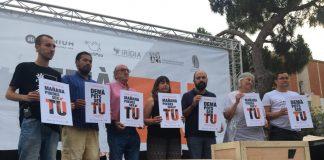Acte de la campanya 'Demà Pots Ser Tu' a Sant Boi de Llobregat | Òmnium Cultural