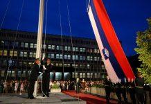 Acte de celebració del 25è aniversari de la Declaració d'Independència d'Eslovènia, Ljubljana, Eslovènia, 24/06/2016 (Font: Oficina de Comunicació del Govern d'Eslovènia)