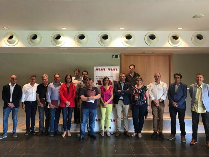 Reunió del consell directiu de l'AMI al Museu del Ter de Manlleu   AMI