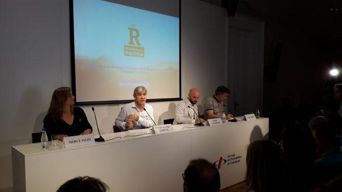 Presentació de la iniciativa 'Primàries per la República' al col·legi de periodistes | Llorenç Prats
