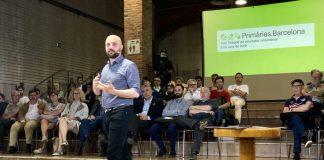 Jordi Graupera a la trobada amb voluntaris de Primàries Barcelona | Primàries Barcelona