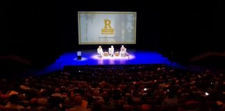 Moment de la convenció de 'Primàries per la República' de dissabte al Teatre Auditori de Granollers | Primàries per la República