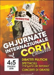 Cartell de les Jornades Internacionals de Corti