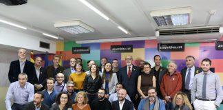 Primera presentació de candidats de Primàries Barcelona fa unes setmanes | ANC