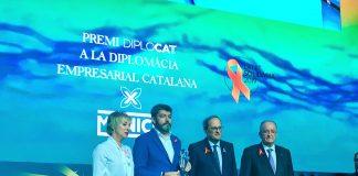 Entrega del premi a Munich | Diplocat