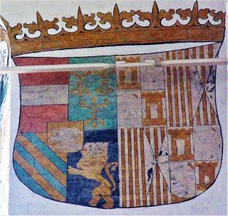 Fresc de la catedral d'Aahrus a Dinamarca