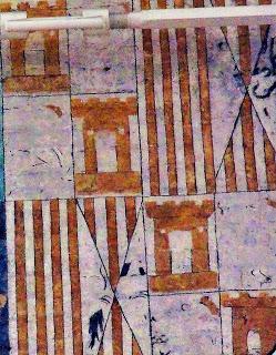 Detall escut fresc catedral d'Aarhus