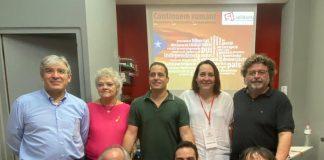 Nova Executiva de SI juntament amb els convidats al IV Congrés Nacional