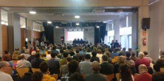 Moment durant la Convenció Nacional de Primàries Catalunya
