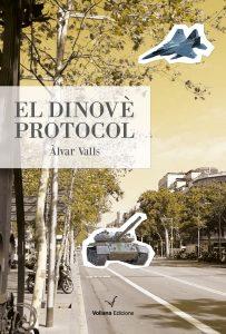 """Coberta del llibre """"El dinovè protocol"""""""