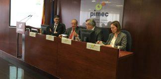 Roda de premsa de PIMEC en relació als efectes del Covid-19   PIMEC