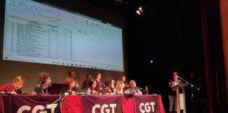 Ple Extraordinari de la CGT a Valls | CGT Catalunya