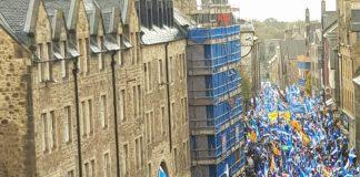 Una de les darreres grans mobilitzacions de l'independentisme escocès | All Under One Banner