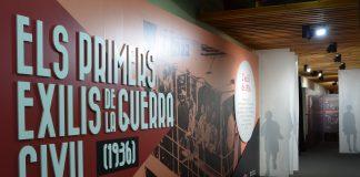 """Exposició """"Els primers exilis de la Guerra Civil"""", al Memorial Democràtic"""